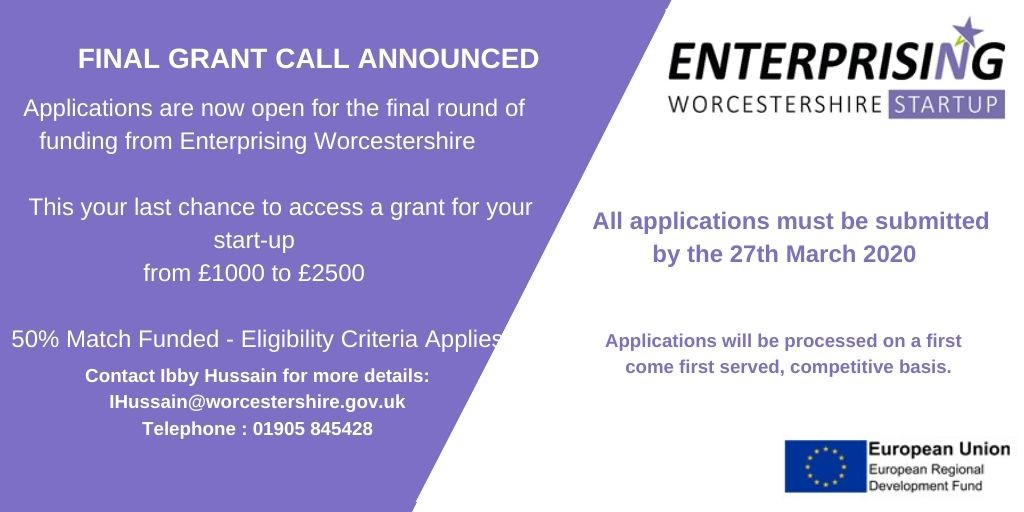 Funding and Support - Enterprising Worcestershire