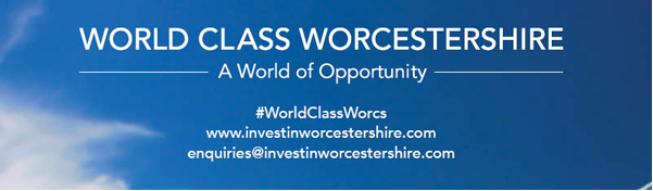 Invest in Worcestershire banner